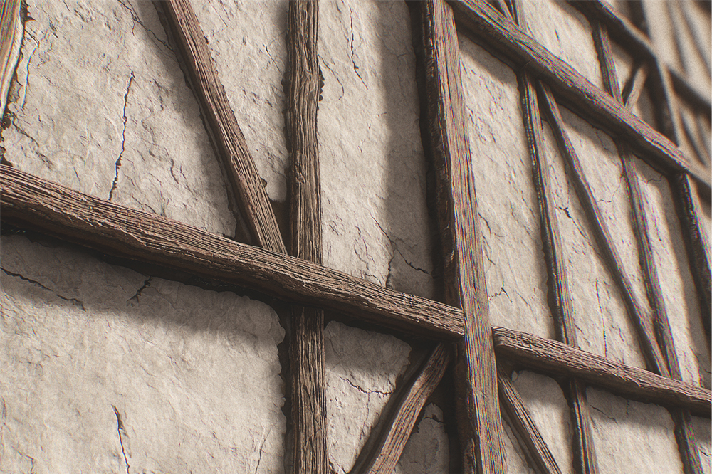 创建TUDOR HOUSE WALL